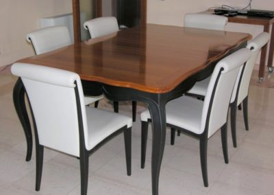 Custom made table, designed to exact specifications